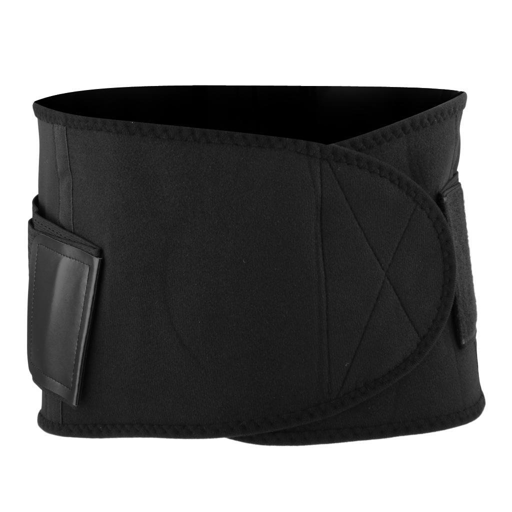 Waist-Trimmer-Weight-Loss-Ab-Belt-Premium-Stomach-Fat-Burner-Wrap-Trainer thumbnail 6