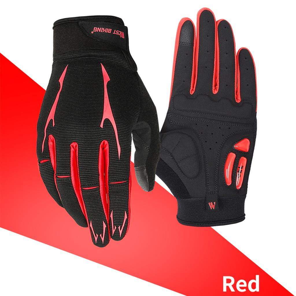 Full-Finger-Breathable-Gloves-Touch-Screen-Motorcycle-Bicycle-Riding-Mittens miniature 7