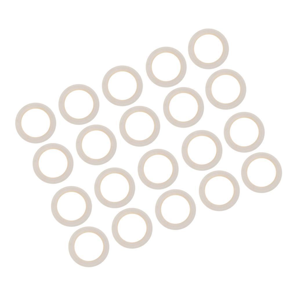 20pcs-Baby-Natural-Wood-Teething-Ring-Teether-Toy-Wooden-Bracelet-DIY-Crafts thumbnail 9