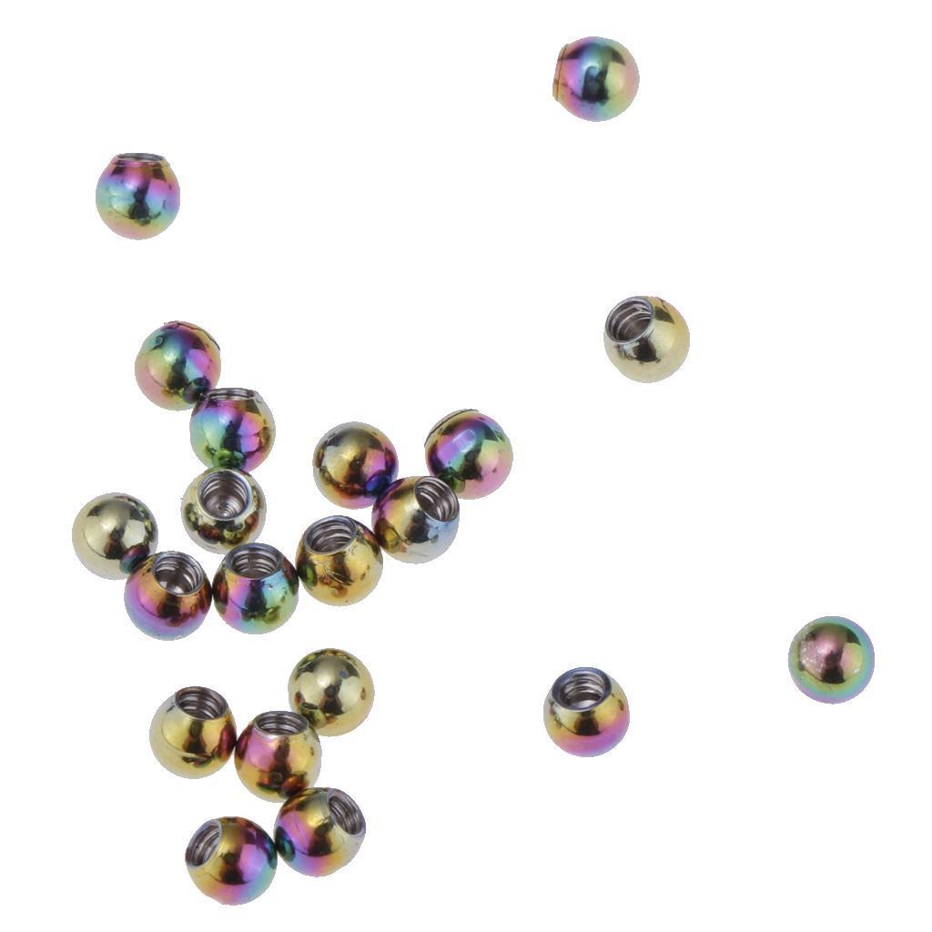 20-Pz-Palle-di-Ricambio-1-26x3mm-DIY-Accessorio-in-Acciaio-Inox-per-Gioielli miniatura 18