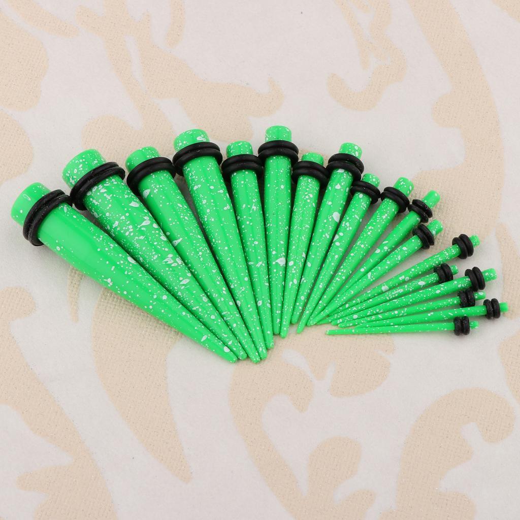 18-pezzi-Guarnizioni-coniche-toriche-in-acrilico miniatura 25