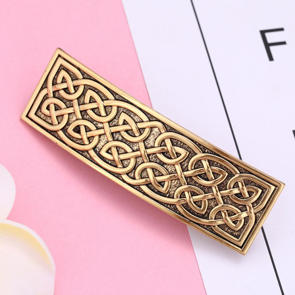 Retro Vintage Style Metal French Barrette Clip Hair Clasp