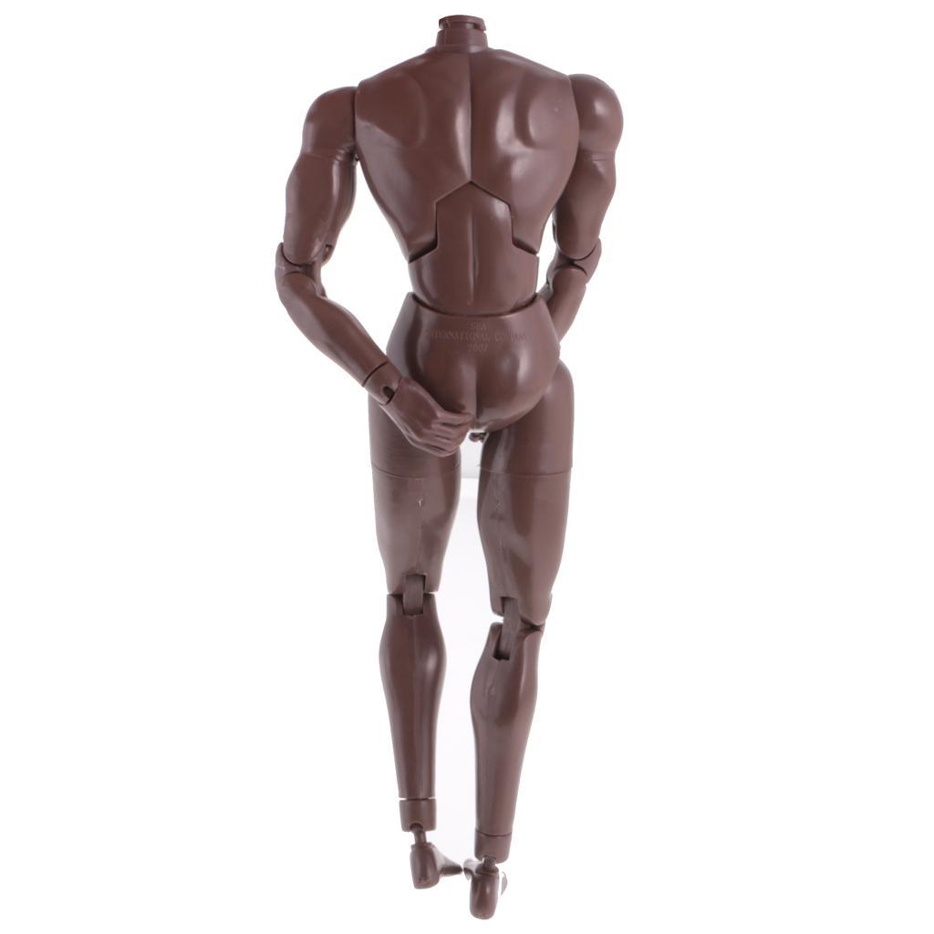 1-6th-Action-Figure-Muscular-Muscle-Male-Nude-Body-for-Hot-Toys-TTM18-TTM19-Head thumbnail 17
