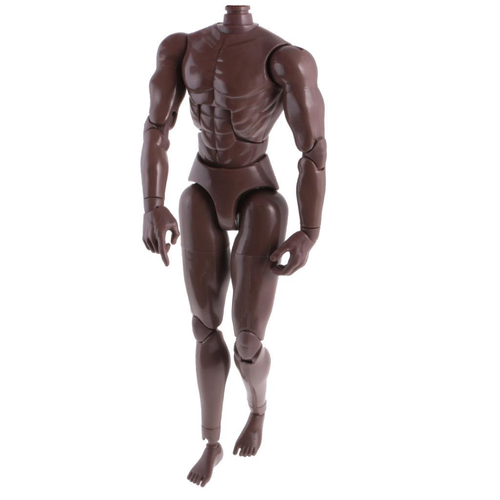 1-6th-Action-Figure-Muscular-Muscle-Male-Nude-Body-for-Hot-Toys-TTM18-TTM19-Head thumbnail 14