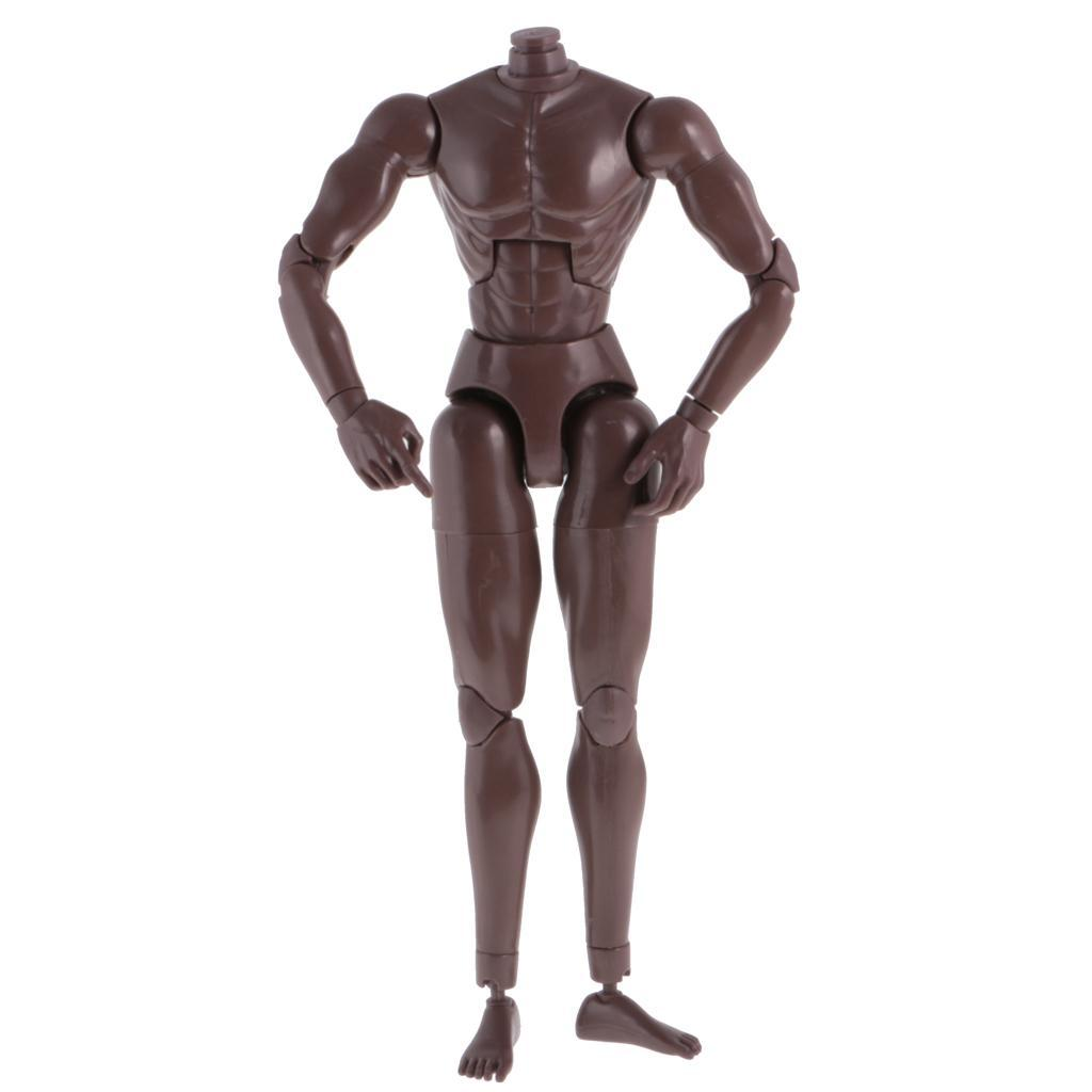 1-6th-Action-Figure-Muscular-Muscle-Male-Nude-Body-for-Hot-Toys-TTM18-TTM19-Head thumbnail 15