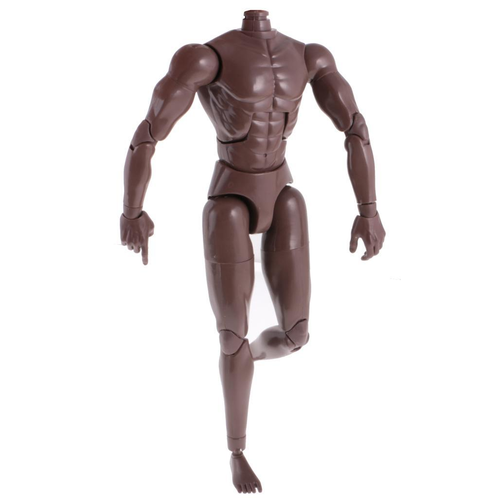 1-6th-Action-Figure-Muscular-Muscle-Male-Nude-Body-for-Hot-Toys-TTM18-TTM19-Head thumbnail 16