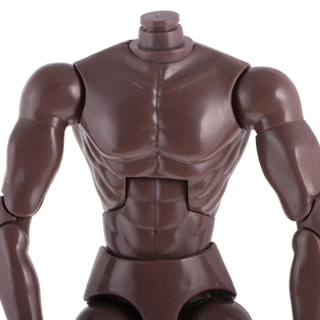 1-6th-Action-Figure-Muscular-Muscle-Male-Nude-Body-for-Hot-Toys-TTM18-TTM19-Head thumbnail 18