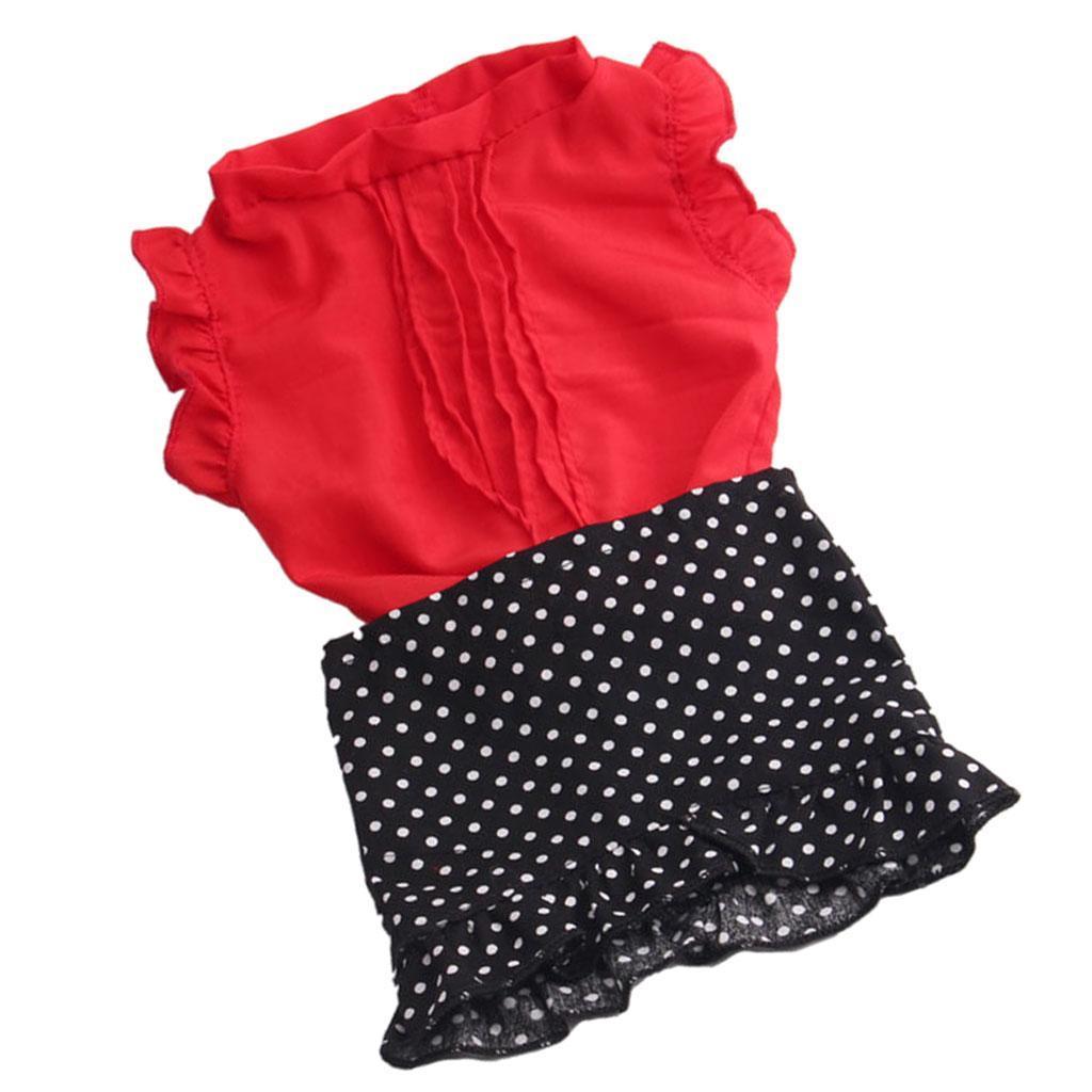 For-18-039-American-Doll-Doll-Generation-Doll-Clothes-Pajamas-Swimwear-Bikini-Shirt miniature 16