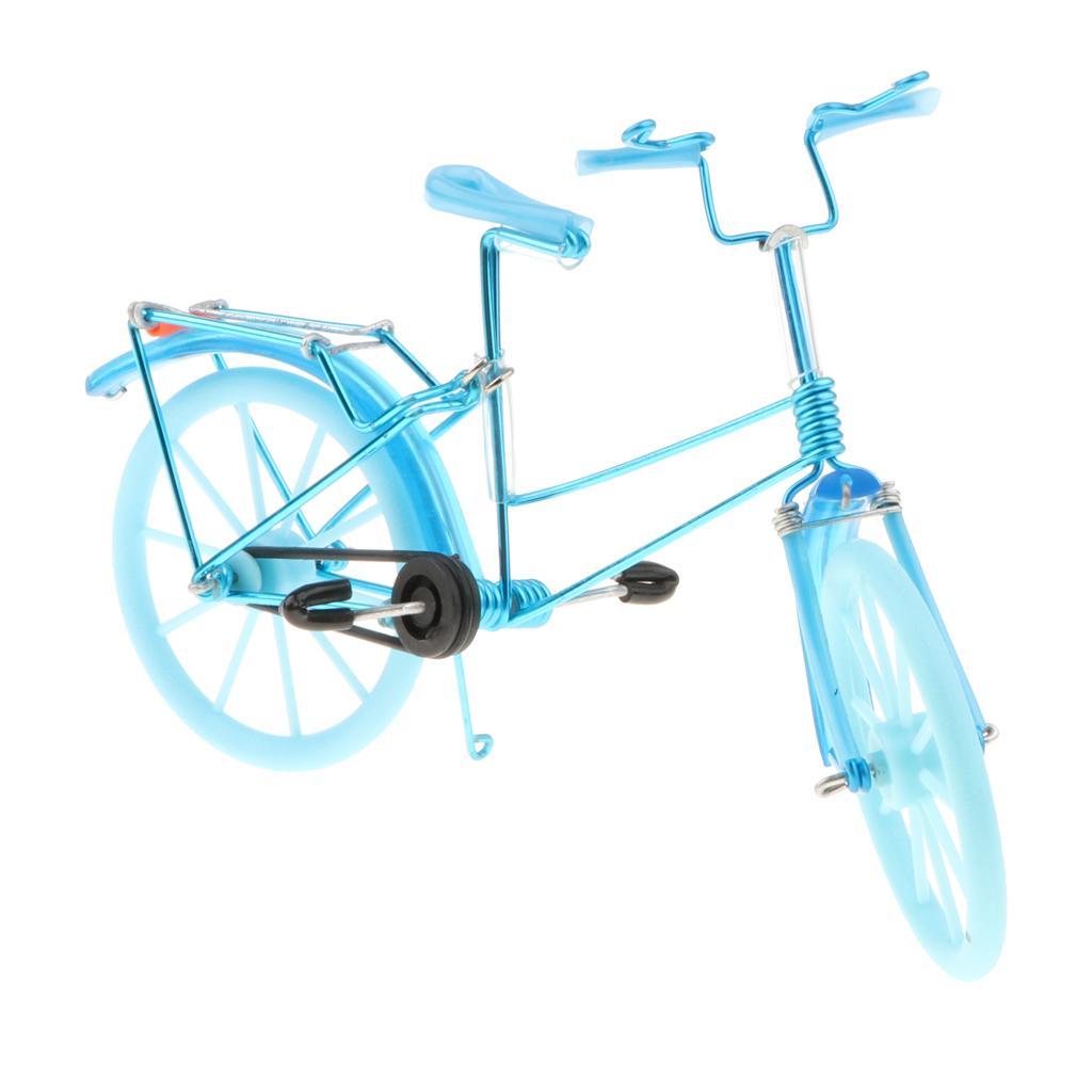 Kids DIY Metal Bicycle Toy Handmade Bike Model Souvenir Collectible Gift