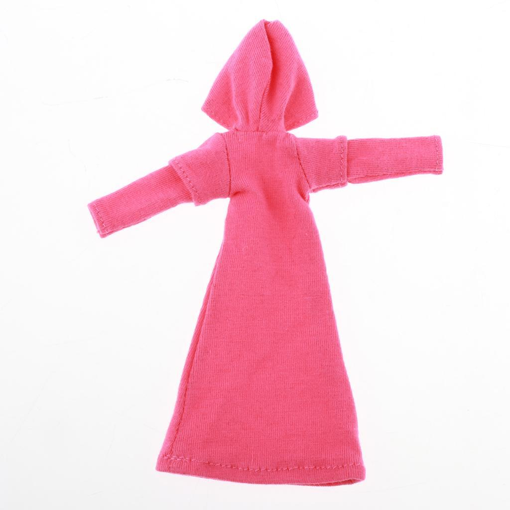 1-9-Action-Figure-Accessory-1-9Doll-Clothes-Action-Figure-Hooded-Dress-Decor thumbnail 4