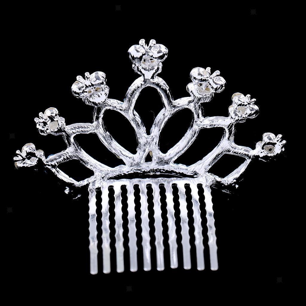 Princess-Crystal-Mini-Hair-Crown-Tiara-Hair-Comb-Girls-Woman-Wedding-Party-Gift thumbnail 48