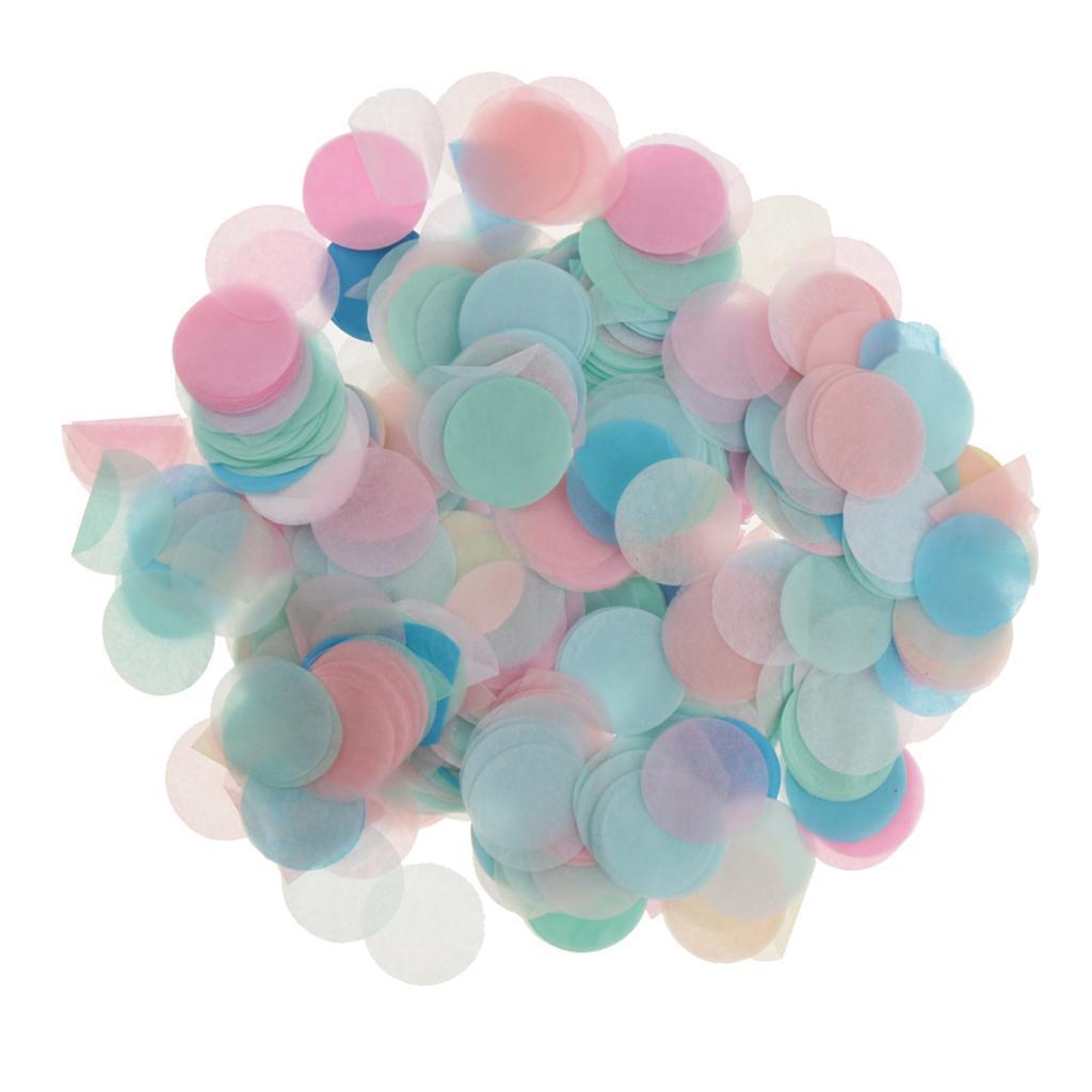 30g-Round-Tissue-Paper-Throwing-Confetti-Party-Balloon-Confetti-Wedding-Decor miniature 12