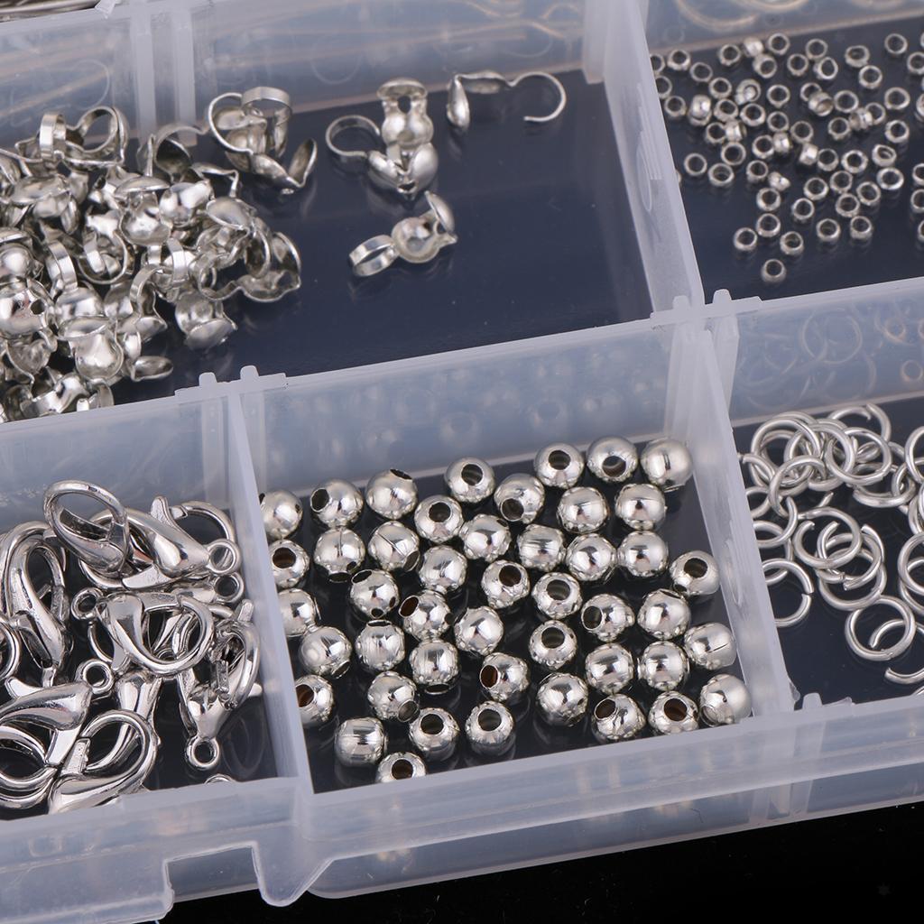 Homard-Fermoir-Boule-Beading-Jewelry-Making-Starter-Kit-A-faire-soi-meme-Findings-Crafts miniature 8