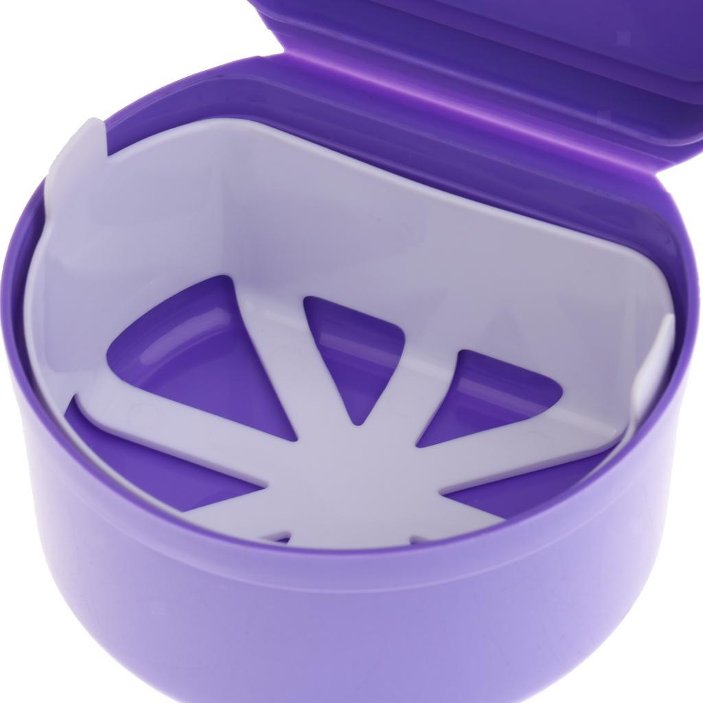 Plastic-Orthodontic-Denture-Teeth-Box-Container-Dental-Holder-Storage-Case-Cup thumbnail 12