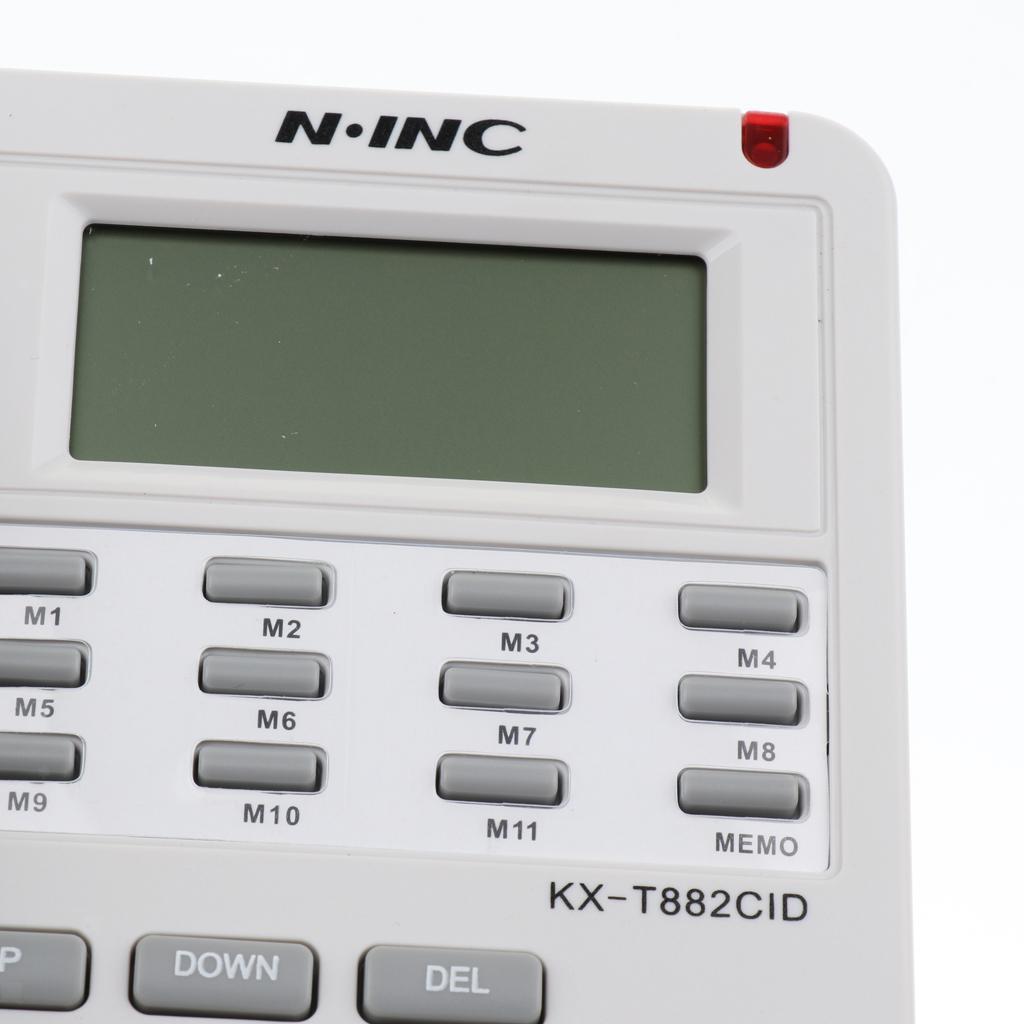 Landline Phone Corded Home / Office Desk Telephone Backlit