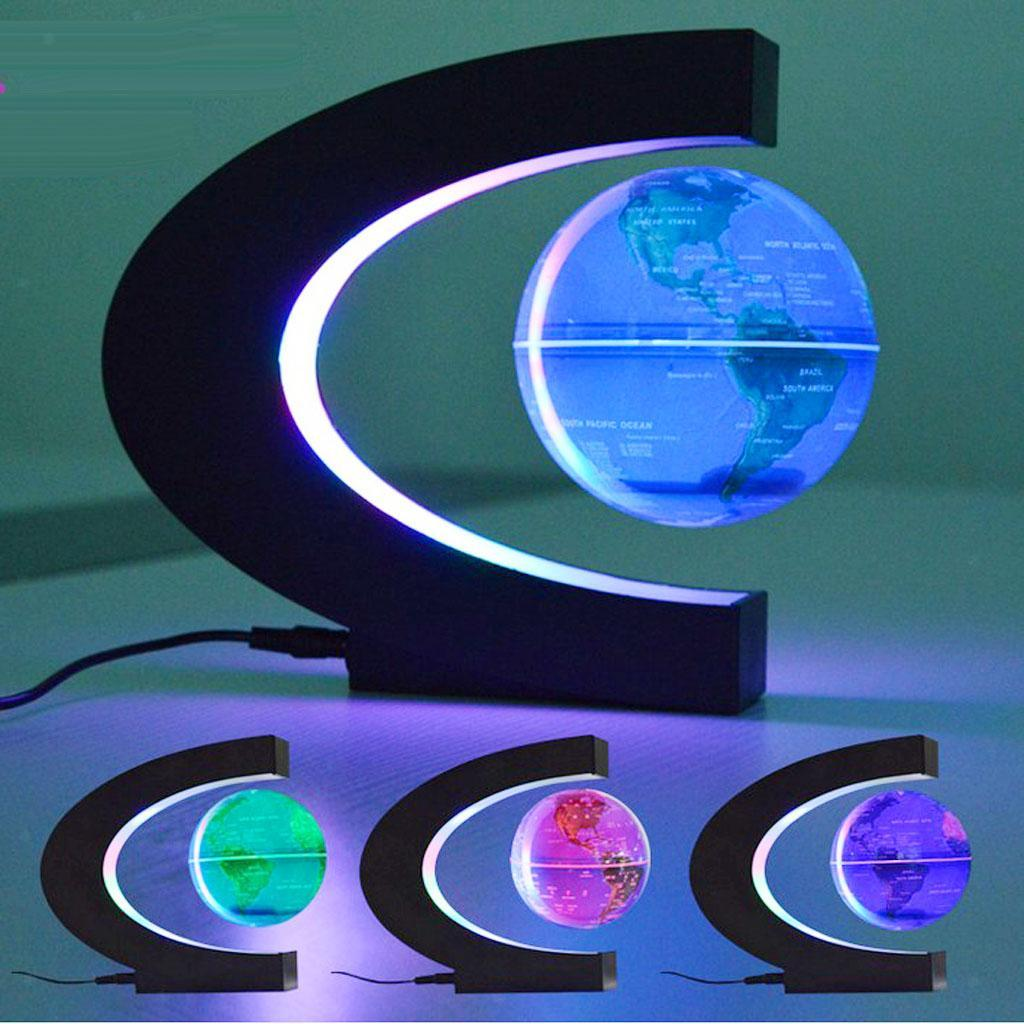 Rotating Planet Earth Globe Ball Anti Gravity LED Light ...