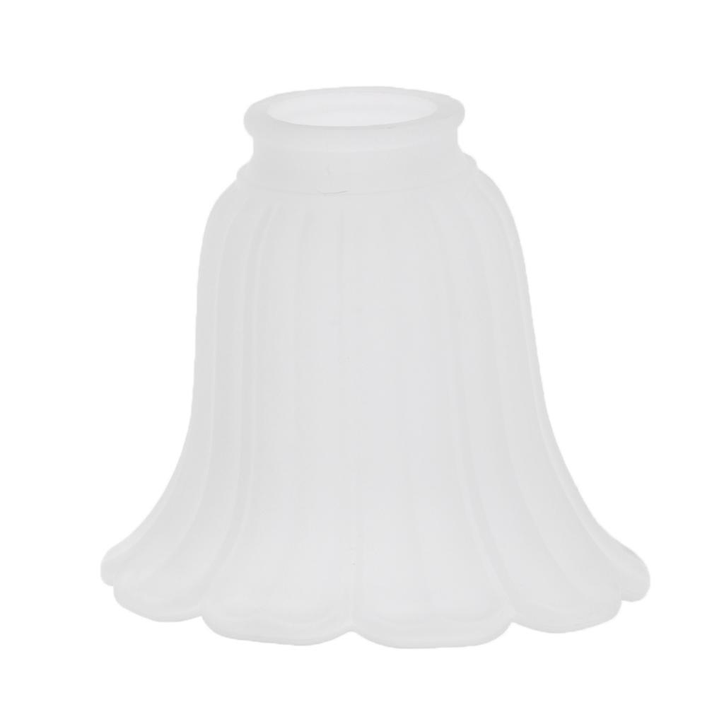 Tulip-Bell-Shape-Vintage-Frosted-amp-Clear-Glass-Lamp-Shade thumbnail 20