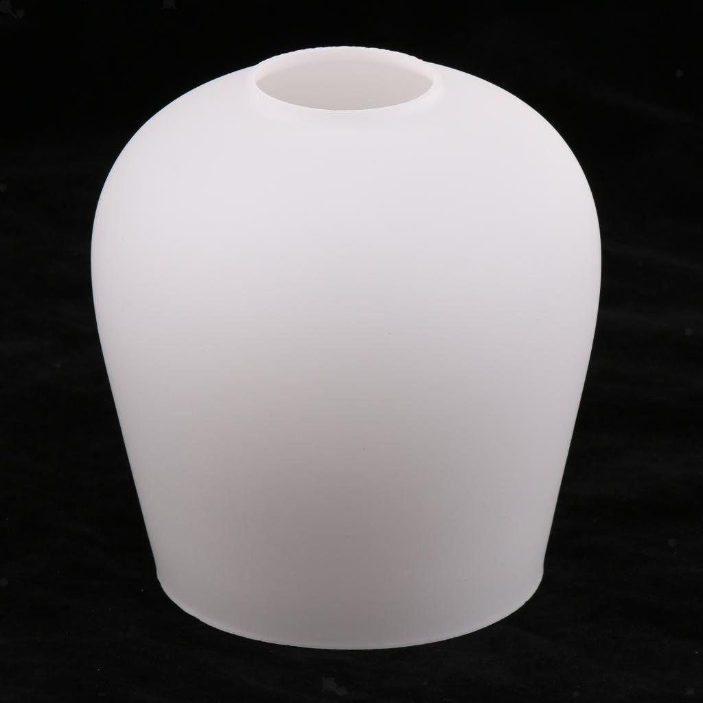 E27-Light-Holder-Replacement-White-Glass-Light-Shade thumbnail 12