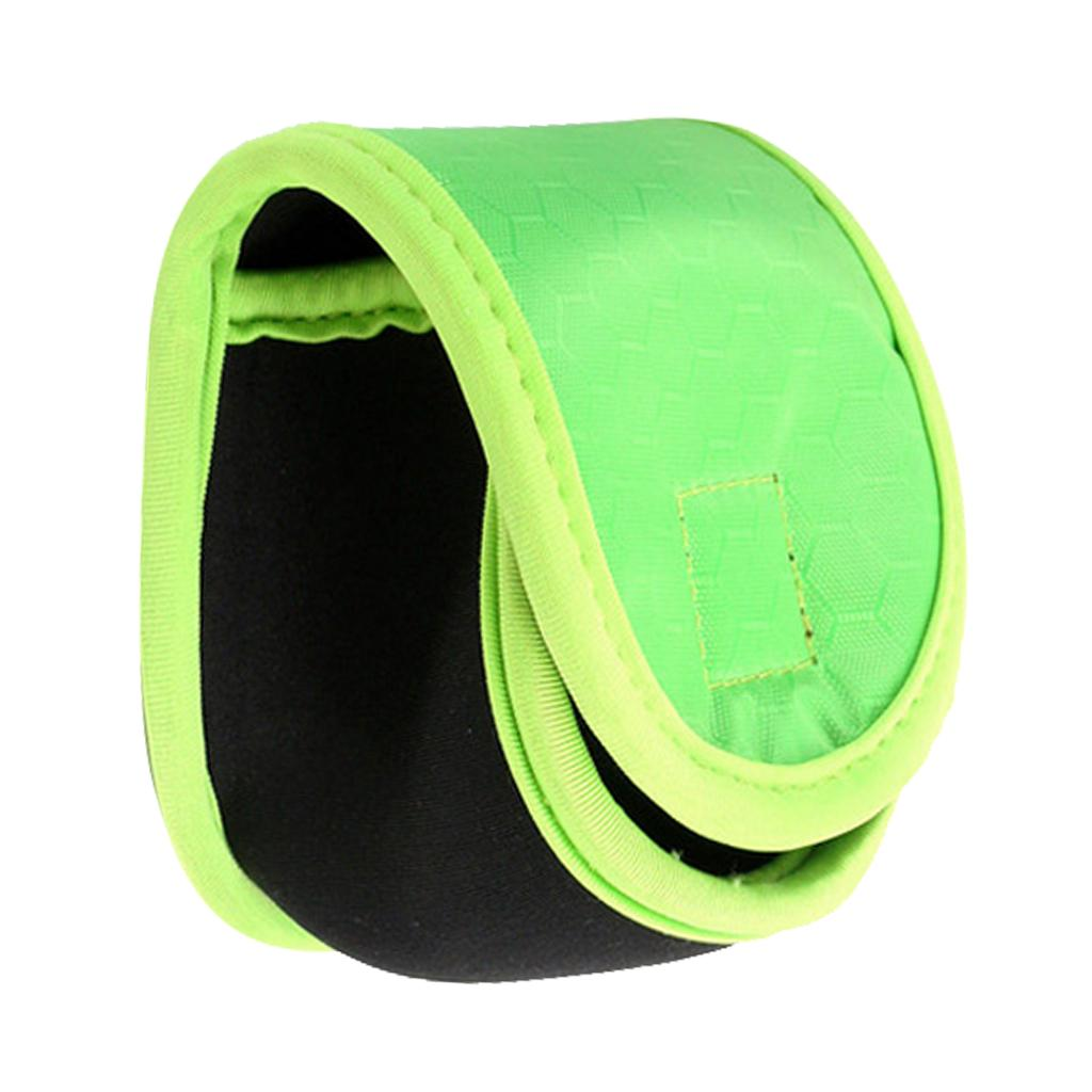 Neoprene Fly Fishing Reel Storage Bag Protective Cover Case Pouch Holder BlackPL