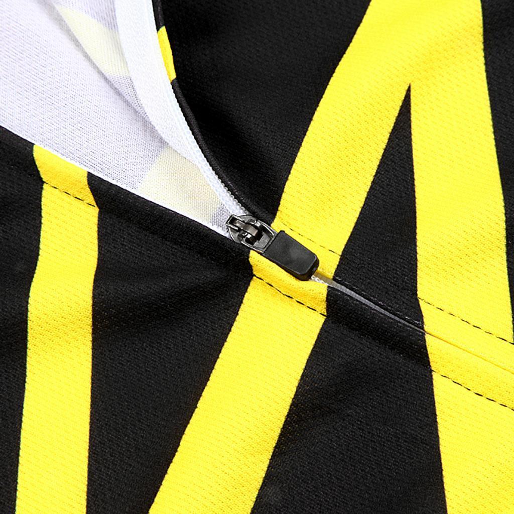Jersey-Maillot-de-Cyclisme-Velo-Enfant-Garcon-Fille-Manche-Longue-Respirant miniature 23