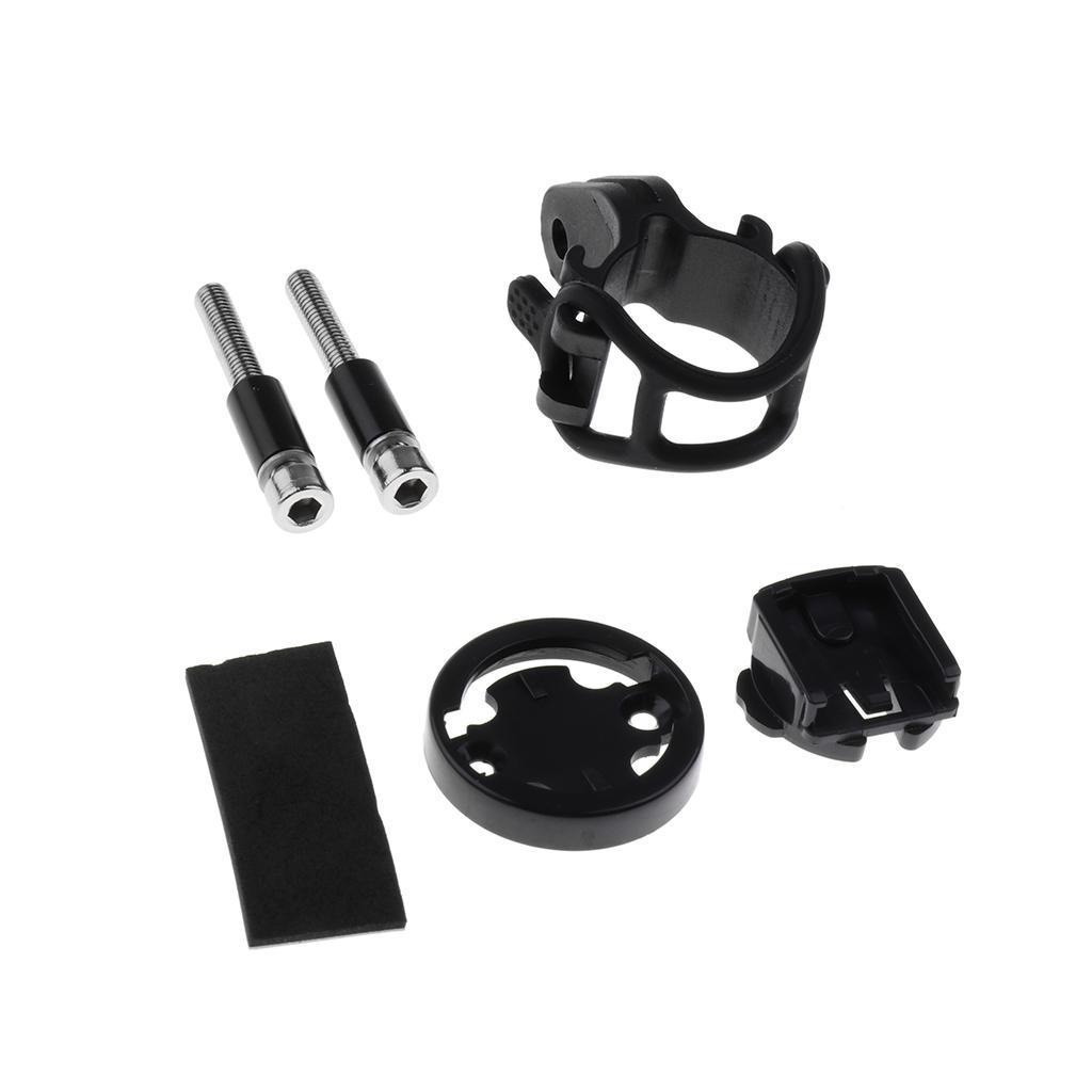 Set-Supporto-Cellulare-Montaggio-A-Bici-Porta-Telefono-Garmin-Edge-Bicicletta miniatura 4