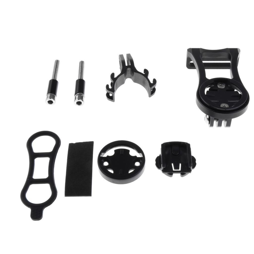 Set-Supporto-Cellulare-Montaggio-A-Bici-Porta-Telefono-Garmin-Edge-Bicicletta miniatura 3
