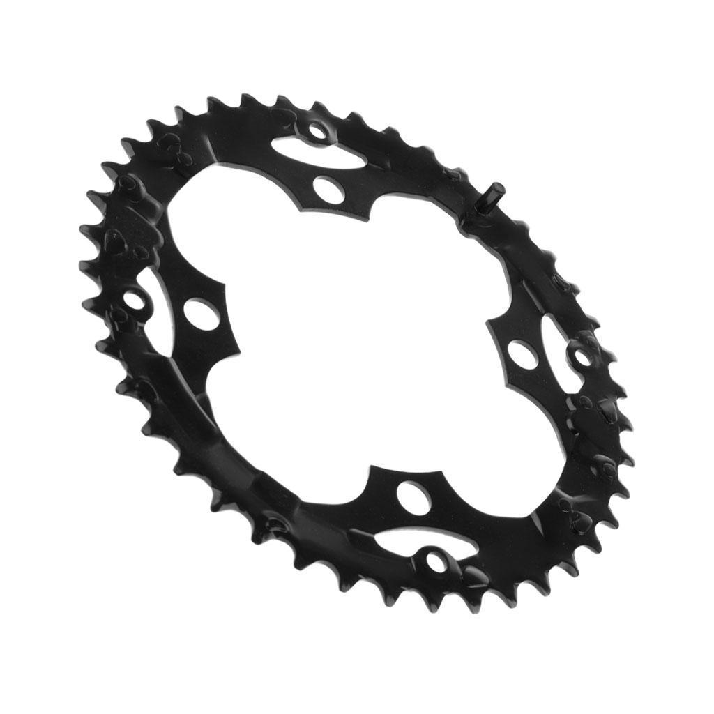 Plateau-Cassette-de-Velo-Velo-de-Montage-Bicyclette-Pignon-Fixe-104BCD-Noir miniature 9