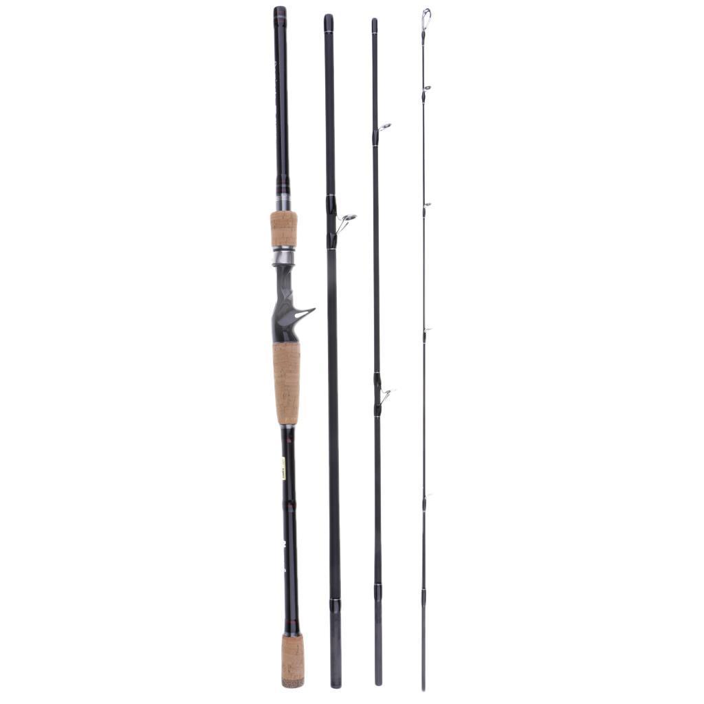 Casting-Fishing-Rod-Carbon-Fiber-4pcs-Travel-Lure-Rod-1-8m-3-0m-Saltwater thumbnail 12