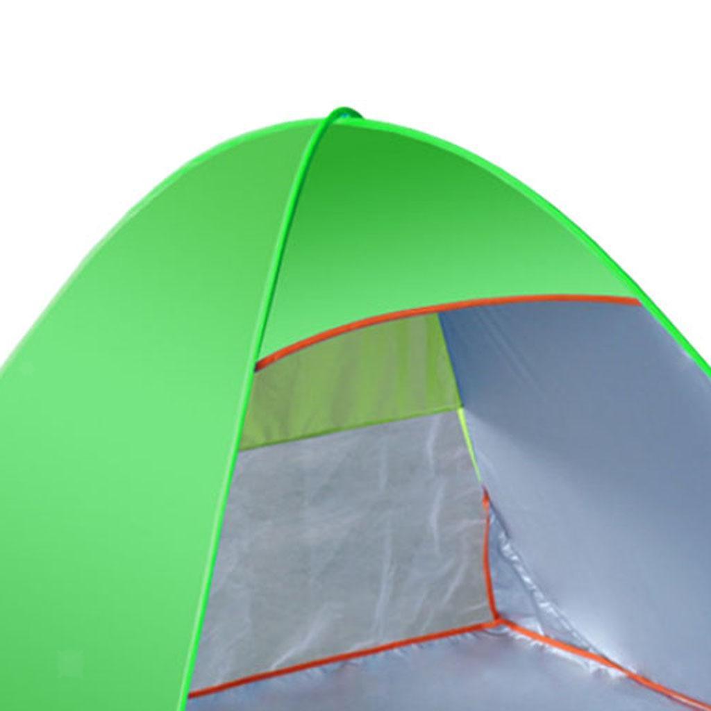 Camping-tente-automatique-Pop-Up-pliage-instantane-plage-soleil-UV-Shelter miniature 8