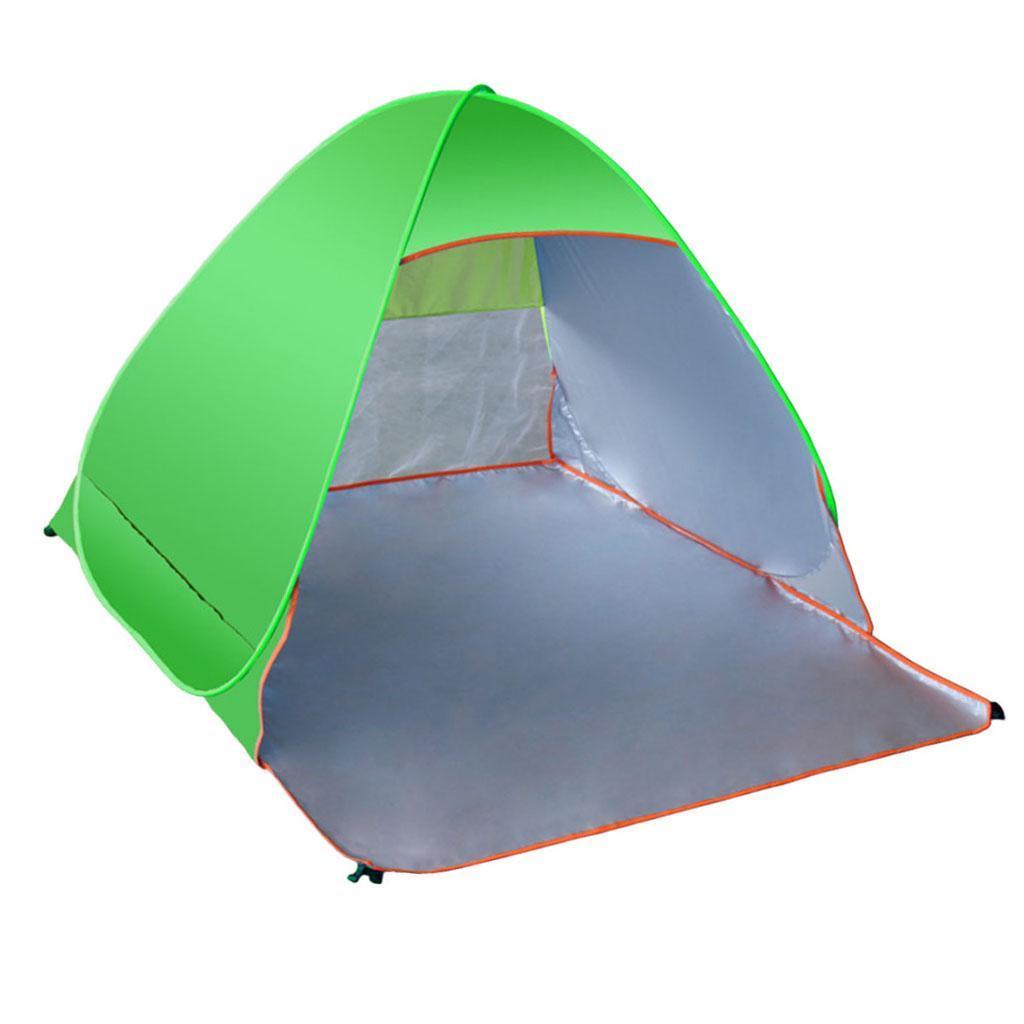 Camping-tente-automatique-Pop-Up-pliage-instantane-plage-soleil-UV-Shelter miniature 9