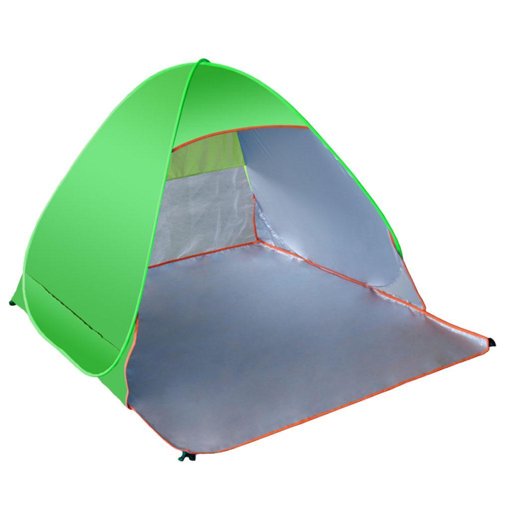 Camping-tente-automatique-Pop-Up-pliage-instantane-plage-soleil-UV-Shelter miniature 7