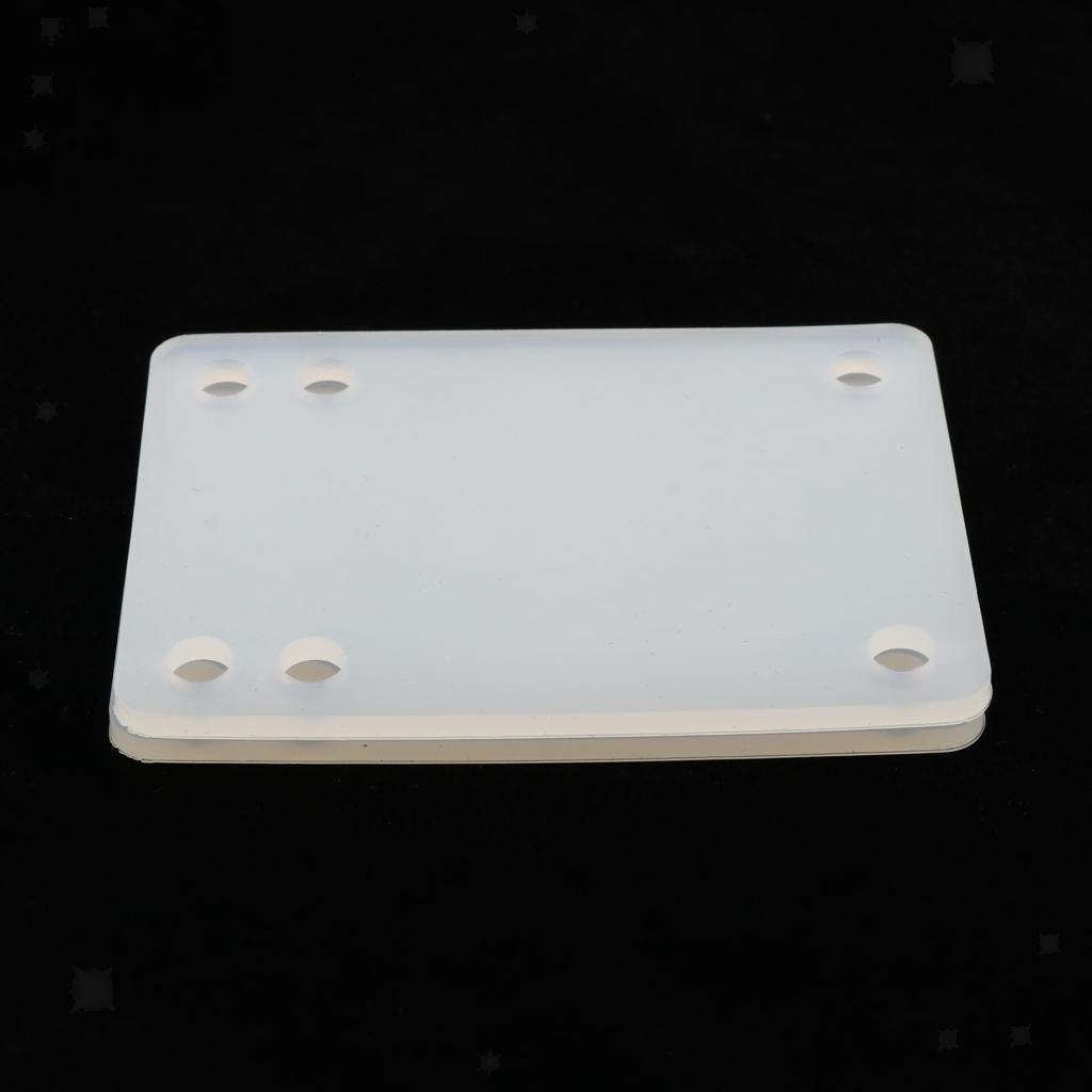 Ammortizzatori-di-riser-longboard-in-gomma-da-skateboard-2-pezzi miniatura 6
