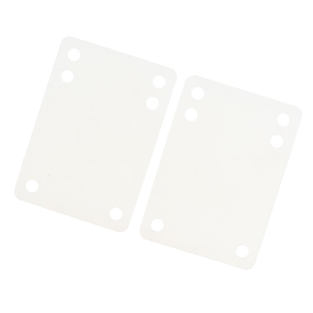 Ammortizzatori-di-riser-longboard-in-gomma-da-skateboard-2-pezzi miniatura 4