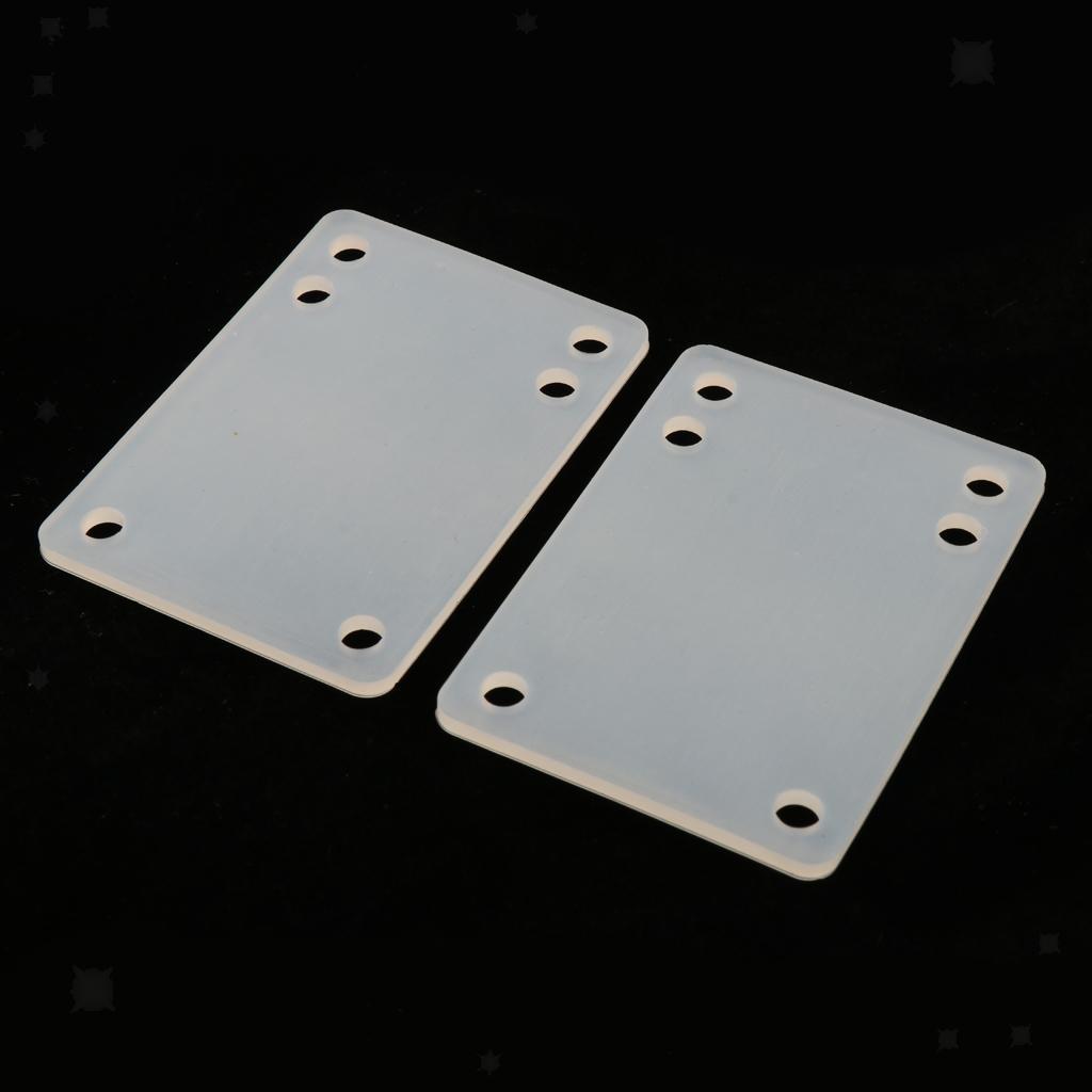 Ammortizzatori-di-riser-longboard-in-gomma-da-skateboard-2-pezzi miniatura 5