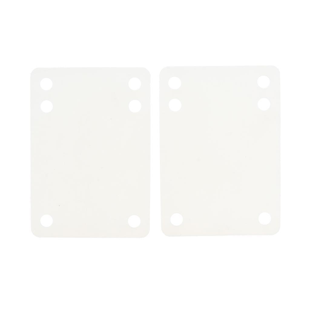 Ammortizzatori-di-riser-longboard-in-gomma-da-skateboard-2-pezzi miniatura 3