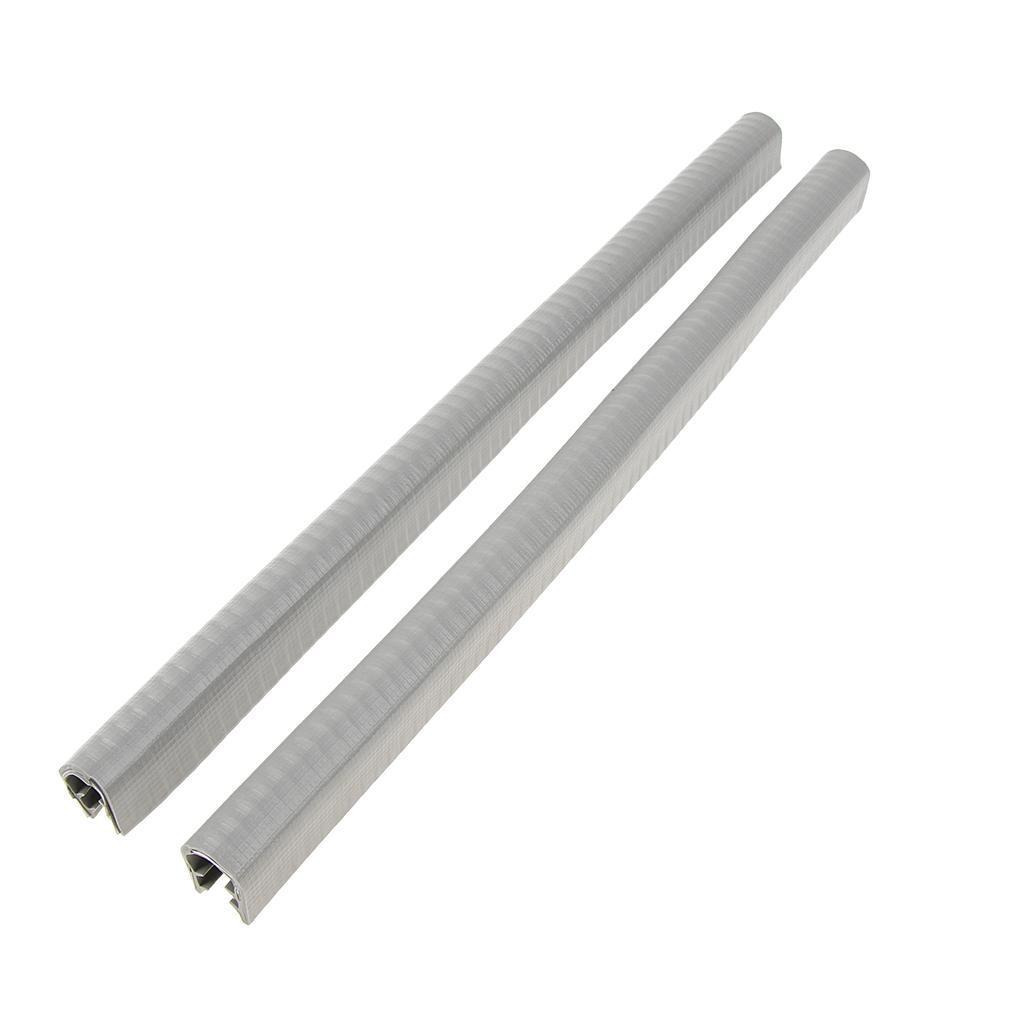 2-Pezzi-Gomma-Longboard-Skateboard-Deck-Protection-Strip-Nose-Cinturino-Di miniatura 9