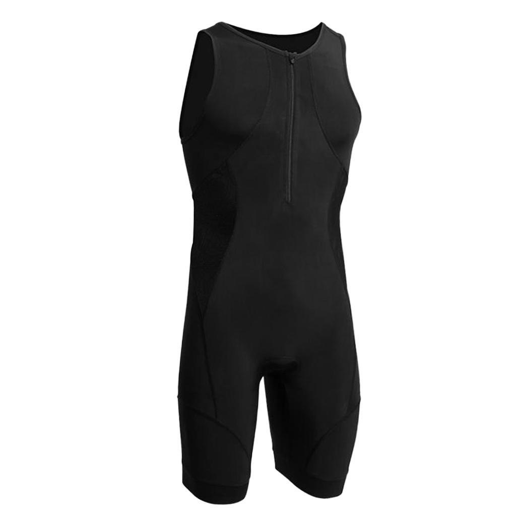 Men-039-s-Performance-Tri-Race-Suit-Race-for-Triathlon-Swimming-Running-Cycling thumbnail 13