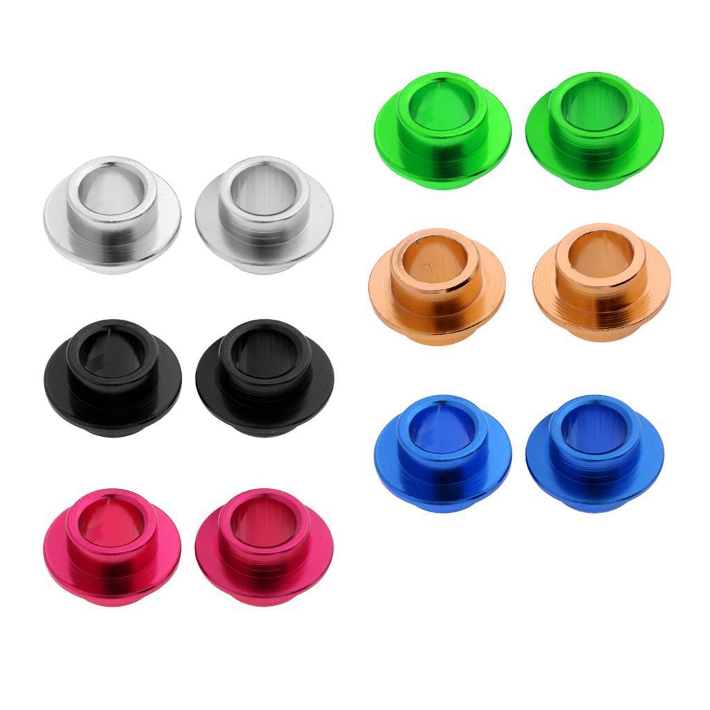 2-Pezzi-Distanziali-Cuscinetti-In-Alluminio-Rresistente-Accessori-per-Rullo miniatura 5