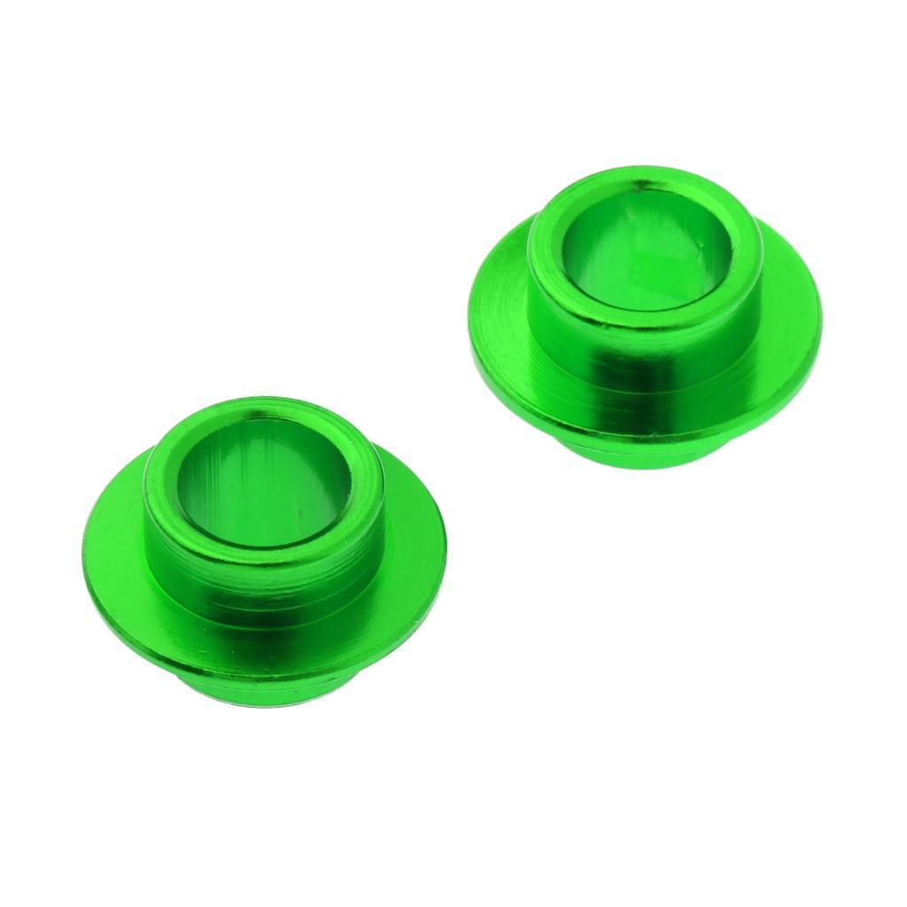 2-Pezzi-Distanziali-Cuscinetti-In-Alluminio-Rresistente-Accessori-per-Rullo miniatura 3