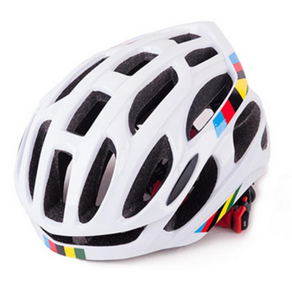 Adjustable-Road-Cycling-Helmet-Bike-Bicycle-Shockproof-Helmet-breathable thumbnail 3