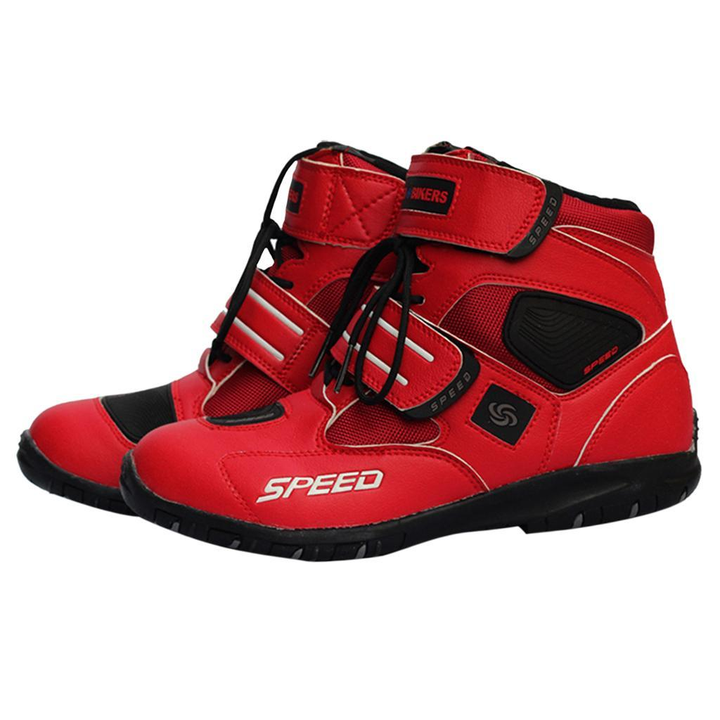 paio-di-scarpe-sportive-da-corsa-per-moto-da-corsa-impermeabili miniature 15