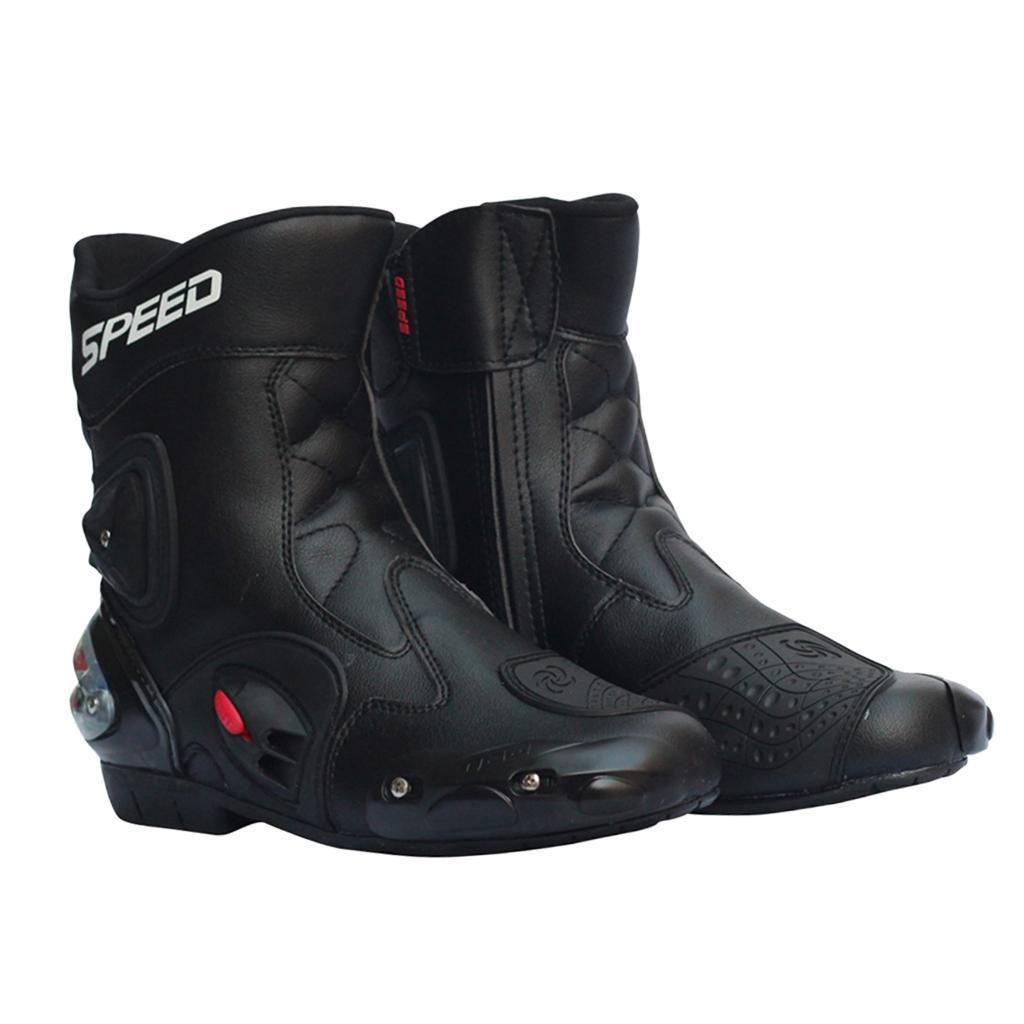 Bottes-de-Moto-Mode-Touring-Chaussures-d-039-Equitation miniature 28