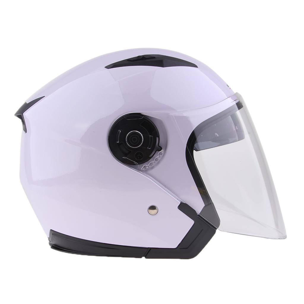 Magideal 3 4 Open Face Classic With Sun Visor Motorcycle Scooter Helmet M L Xl Xxl Grey Xl