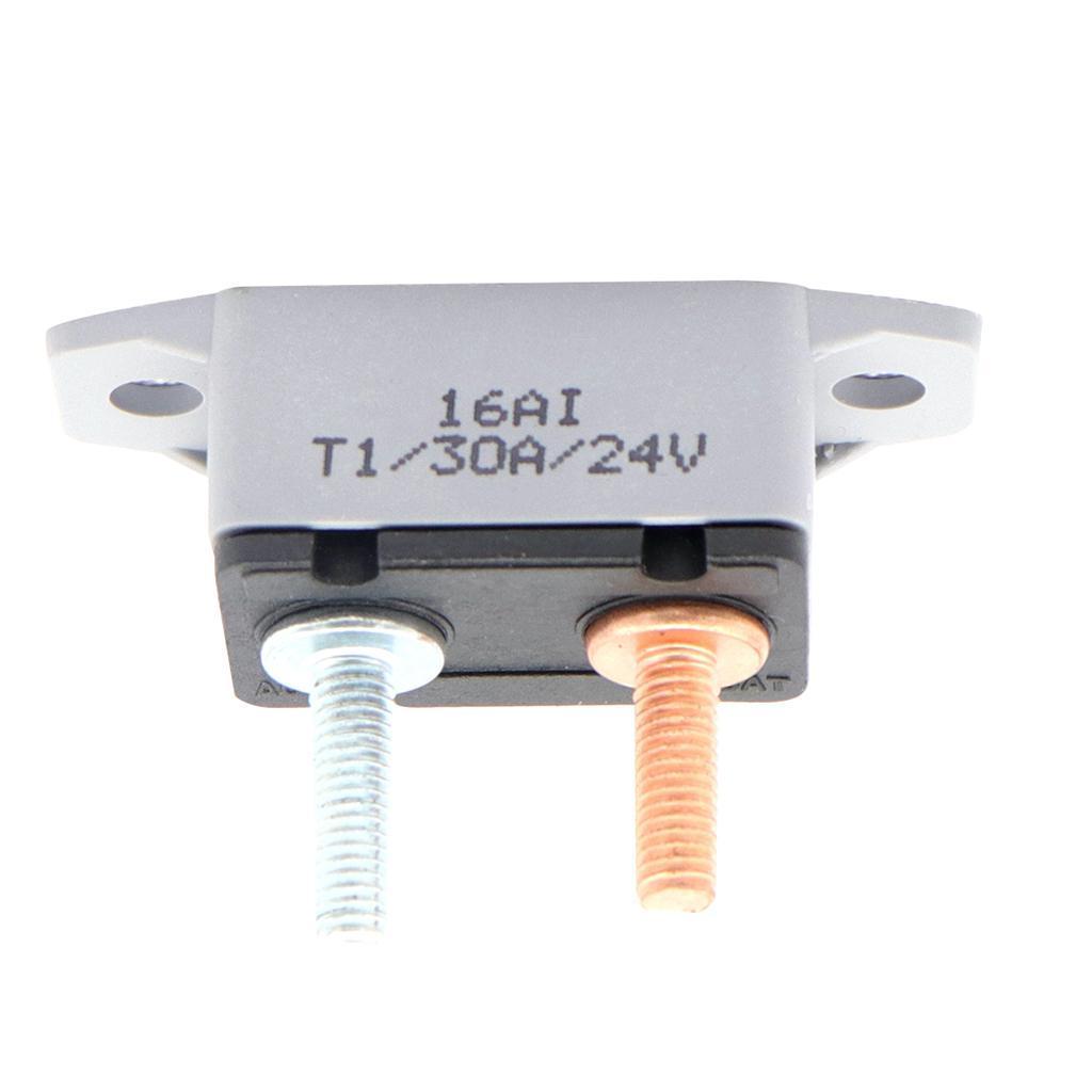 Circuit Breaker Dual Battery Automatic Reset Ip66 Waterproof 12v 24v Fuse