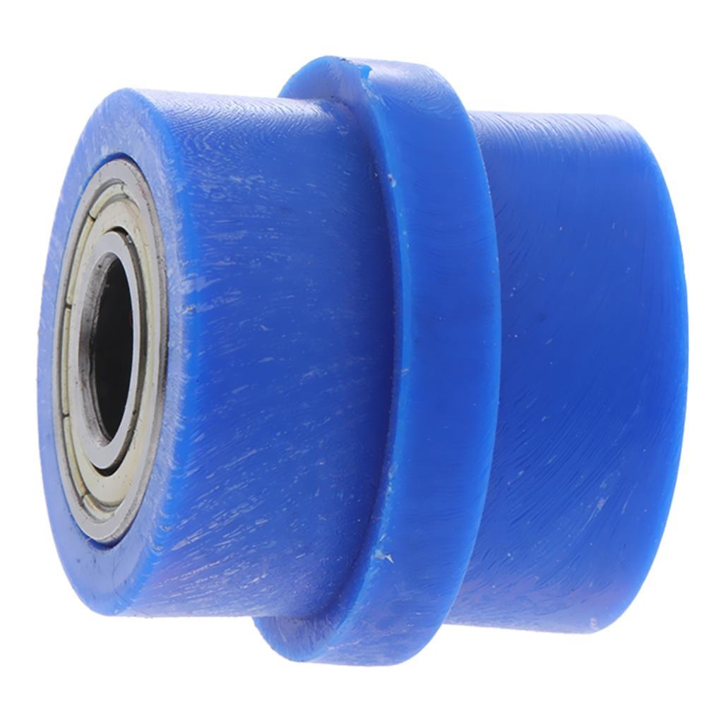 Motorcycle-Chain-Tensioner-Pulley-Wheel-Moto-Chain-Roller-Slider-10mm miniature 3