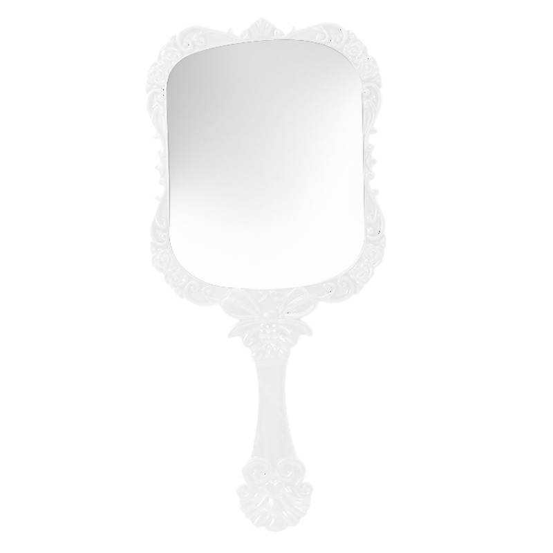 Vintage Cosmetic Hand Held Mirror Antique Vanity Makeup