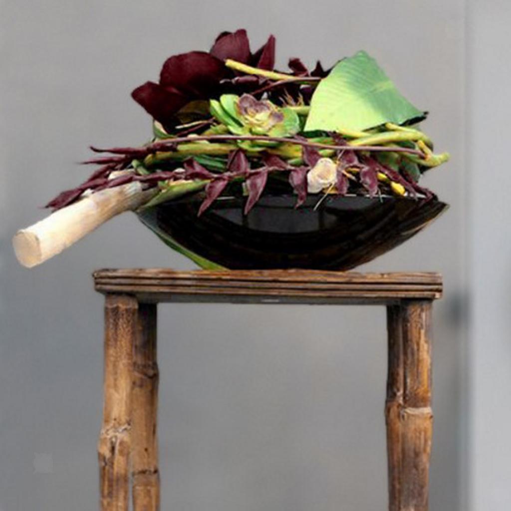 Ikebana-Suiban-Display-Vase-Pot-Tray-Container-for-Flower-Arrangement thumbnail 6
