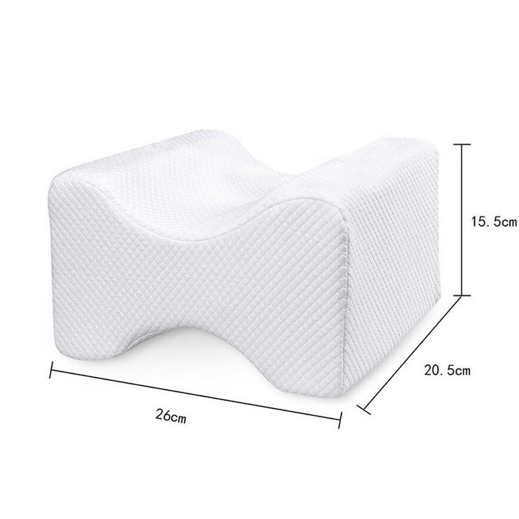Memory-Foam-Leg-Pillow-with-Cover-Orthopaedic-Firm-Back-Hips-Knee-Support thumbnail 10
