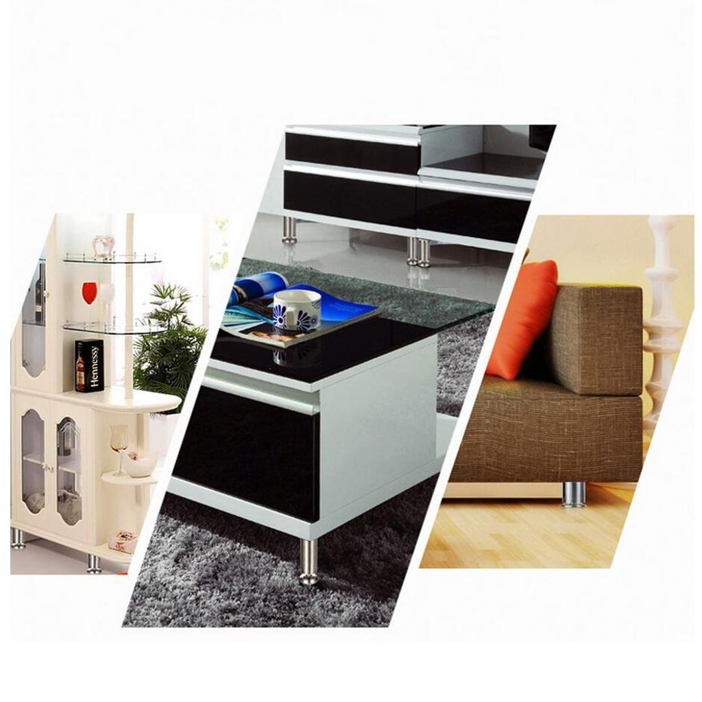 2-034-Dia-Stainless-Steel-Cabinets-Furniture-Plinth-Feet-Legs-Kitchen-4pcs-Set thumbnail 6