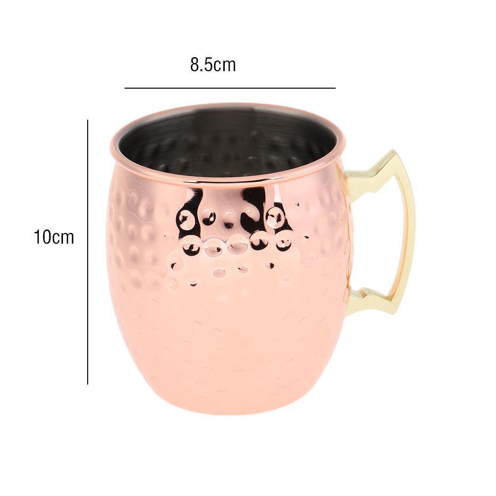 Stainless-Steel-Cup-Cocktail-Water-Beer-Coffee-Traval-Mug-Moscow-Mule-Mug thumbnail 6